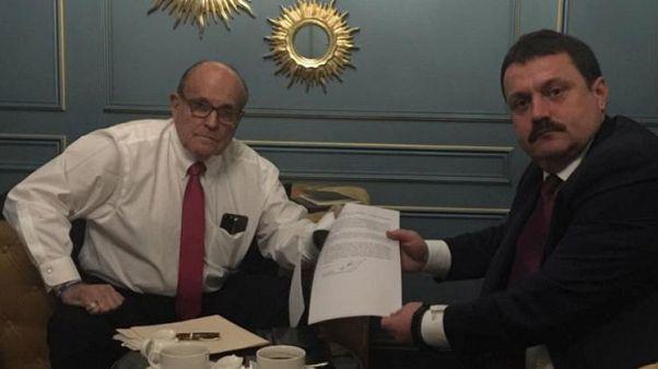 Ukraine lawmaker met Giuliani to discuss misuse of US taxpayer money in Ukraine