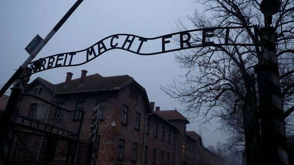 Merkel to give Auschwitz 60 million euros from Germany during first visit