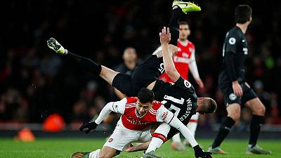 Arsenal slump to first home defeat by Brighton