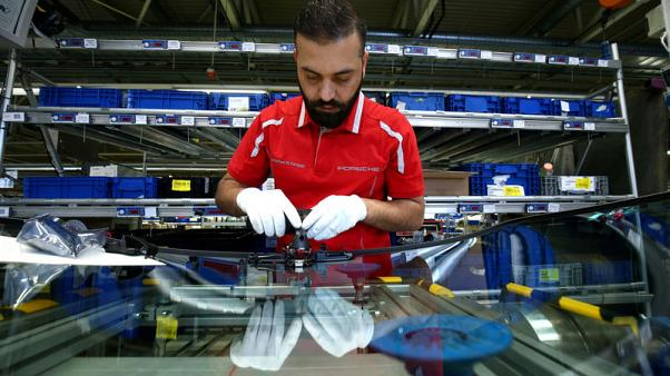 German industry output falls sharply in October