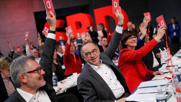 Let's give Merkel coalition a chance, says incoming German SPD boss