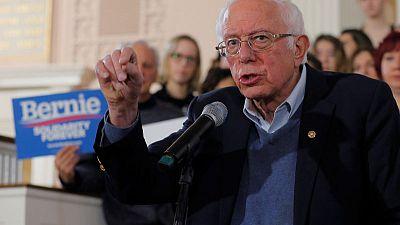 U.S. Democratic contender Sanders proposes $150 billion for 'high-speed internet for all'