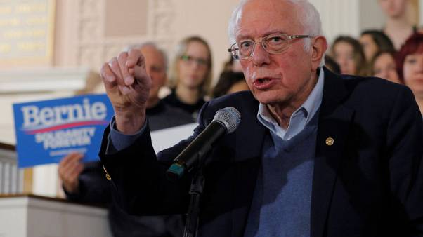 U.S. Democratic contender Sanders proposes $150 billion for 'high-speed internet for all'