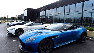 Aston Martin not actively pursuing new investors as opens SUV plant