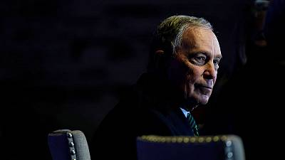 Bloomberg on his Democratic rivals - 'Trump will eat 'em up'