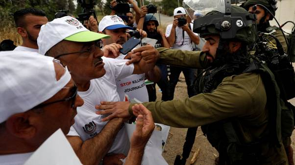 Israel detains Palestinian Authority TV journalists in Jerusalem