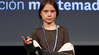 Thunberg says 'our voices' being heard but not translating into action