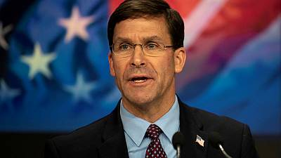 U.S. military has enough capability in Middle East for now - Esper