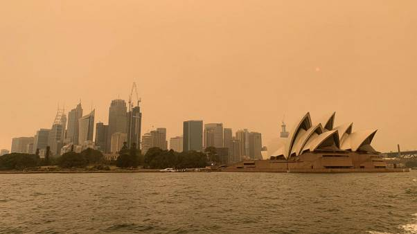 Giant fire near Sydney may take weeks to be put out