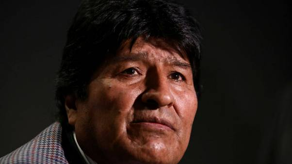 Bolivia's Morales visits Cuba for medical appointment