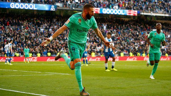 Real Madrid ease past Espanyol to move top of La Liga