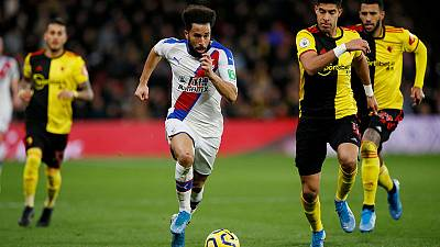 Watford end losing run with scrappy 0-0 draw against Palace