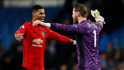 City title hopes in tatters after derby loss to United