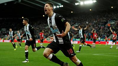 Late Fernandez strike gives Newcastle 2-1 win over Southampton
