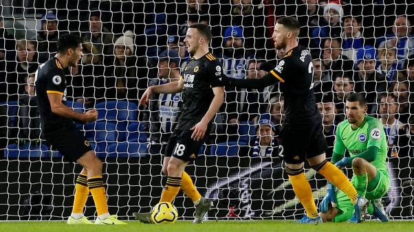 Resilient Wolves hold Brighton to thrilling 2-2 draw