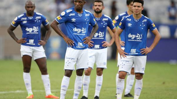 Fans riot as Cruzeiro are relegated from Brazil's Serie A
