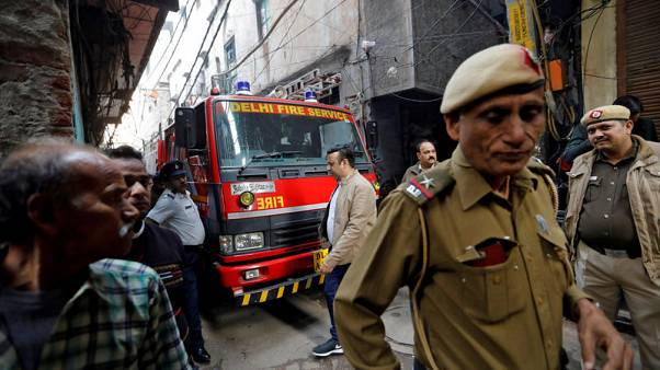 Factory owner, manager nabbed after Indian capital's deadliest fire in 20 years