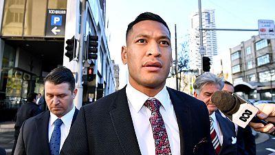 Rugby Australia backs CEO Castle amid criticism over Folau case