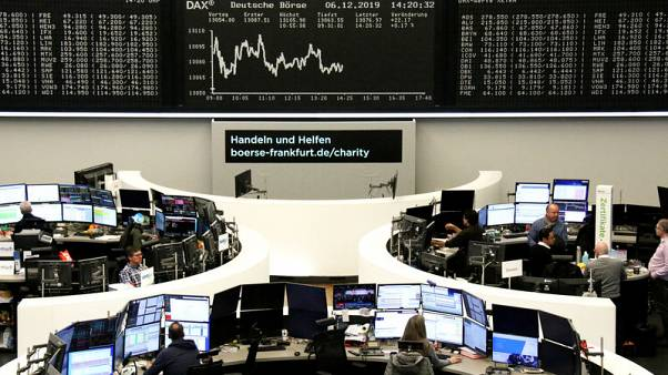 European shares flat as China data stokes slowdown worries