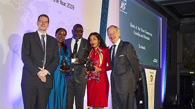 Ecobank désignée 'Banque de l'Année' et 'Meilleure Banque' lors de prestigieuses cérémonies à Londres