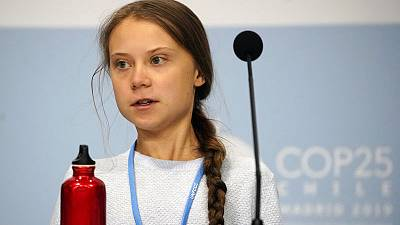 Activist Thunberg turns spotlight on indigenous struggle at climate summit