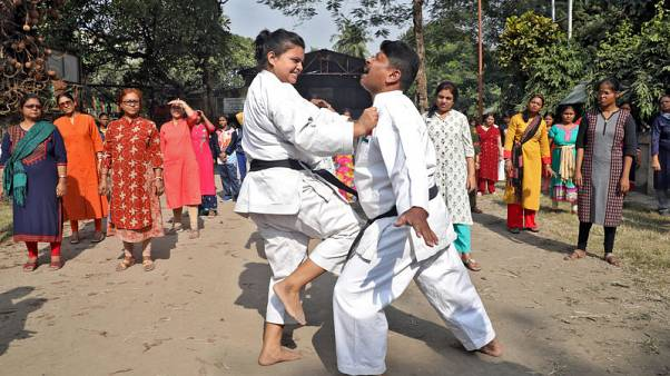 From karate to pepper spray, sexual assaults prompt Indian women to fight back
