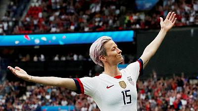Rapinoe wins Sports Illustrated's top prize to cap stellar year