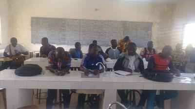 """Les activités du projet """"Get Into Rugby"""" Nord de la Fédération Togolaise de Rugby"""