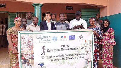 La France soutient l'association Climates Mali et ses projets de reboisement et de sensibilisation climatique à Kita et Bamako