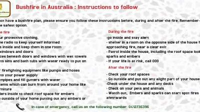 New Alert to our Fellow-Citizens living in New South Wales (NSW) and Victoria