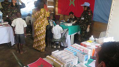 Bunia : la MONUSCO organise une campagne de dépistage et de sensibilisation médicale gratuite pour une centaine d'écolier (Par Jean-Tobie Okala)