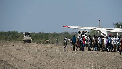 Pibor residents upbeat after rehabilitation of area airstrip by Korean UN peacekeepers (By Mach Samuel)