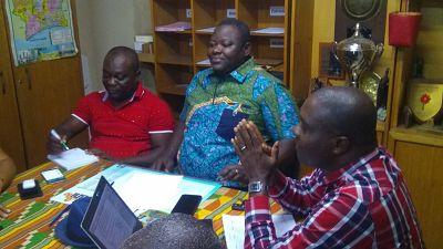 Elvis Tano met en mission les membres du bureau exécutif