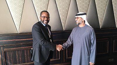 S.E. Gabriel Mbaga Obiang Lima lance l'Année de l'Investissement avec plusieurs réunions et accords à Abu Dhabi