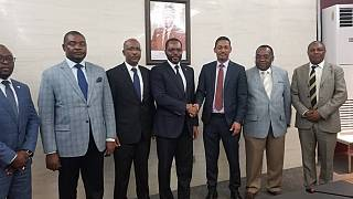 Le Ministre des Mines et des Hydrocarbures de la Guinee Equatoriale rencontré son homologue Ethiopien