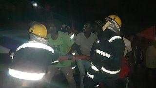 Butembo : la MONUSCO circonscrit un incendie dans un dépôt clandestin de carburant (Par Unpol Mbaye Sady Diop Et Robertus Andy Kristianto)