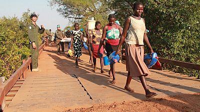 Bridge repair by Thai peacekeeping engineers provides a lifeline for communities in Lakes region (By Tonny Muwangala)