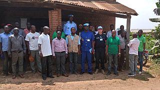 Beni : le mandat de la MONUSCO au cœur d'un échange entre Police MONUSCO et leaders communautaires (Par Unpol Mbaye Sady Diop Et Robertus Andy Kristianto)
