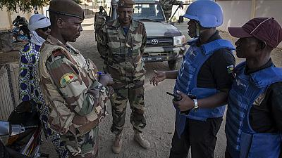 Centre du Mali : la MINUSMA de nouveau aux côtés des Forces de défense et de sécurité maliennes pour la protection des civils