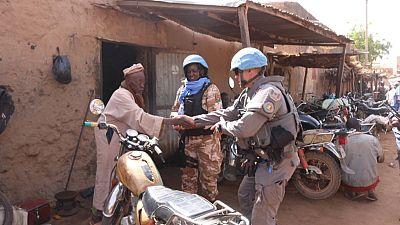 À Bandiagara, la MINUSMA reprend ses activités de soutien à la protection de la population