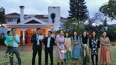 Chinese Ambassador to Kenya Wu Peng attended Chinese New Year Gala