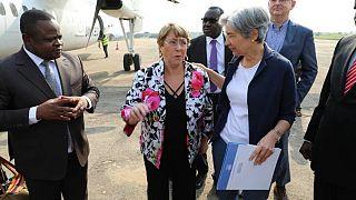 La Haut-Commissaire des Nations Unies aux Droits de l'homme en visite en Ituri (Par Annie Anyado)