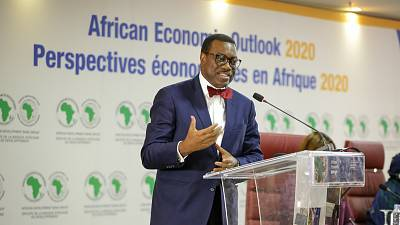 """""""Nobody eats GDP"""" says African Development Bank President as he calls for inclusive growth"""