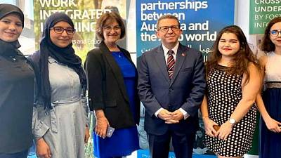 """Holding of the first edition of """"Morocco in OZ"""" in Australia"""