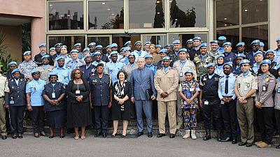 La MONUSCO se félicite d'une bonne performance de sa composante Police en 2019 (Par Ascain Zigbia-Tayoro)
