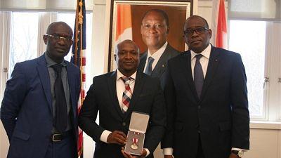 Commandant Djakarta Konaté, un Officier Supérieur américain d'origine ivoirienne à l'honneur