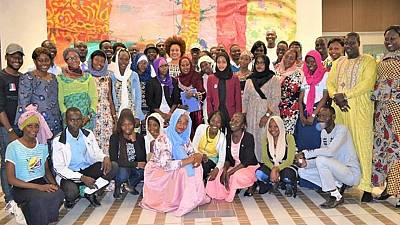 Young Chadians gather to discuss the history and lessons of America's Civil Rights Movement