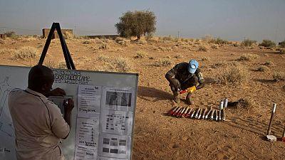 Action contre les mines : face à la menace croissante, l'UNMAS appelle à soutenir les pays du Sahel