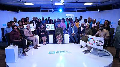#UN75: Global Dialogues with Youth intensifies as Deputy Secretary-General Amina Muhammed engages young people in Nigeria