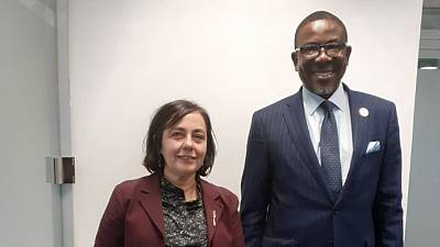 H.E Ambassador, Mr. Richard A. Opembe paid a Courtesy Call on Director General for International Trade and Investments, Ms. María Paz Ramos Resa, on 13th February 2020